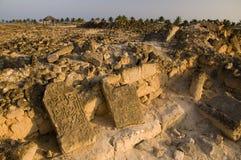 кладбище balid al арабское старое Стоковое Фото
