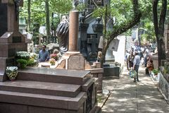 Кладбище Consolacao стоковое фото