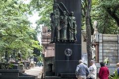 Кладбище Consolacao стоковое фото rf