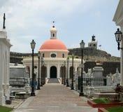 кладбище juan старый san Стоковое Фото