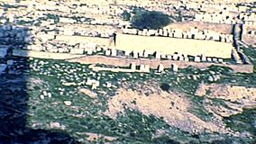 Кладбище Kidron Valley Иерусалима еврейское акции видеоматериалы