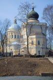 Кладбище Nikolsky Александра Nevsky Lavra стоковое фото rf