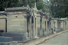 Кладбище Pere Lachaise Стоковая Фотография RF