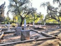 Кладбище Yorba Linda историческое стоковые изображения
