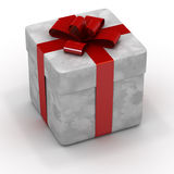 кладет подарок в коробку бесплатная иллюстрация