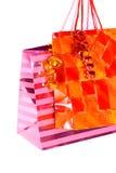 кладет подарок в мешки Стоковое Изображение RF