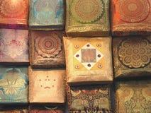 кладет handmade Индию в мешки стоковые фотографии rf