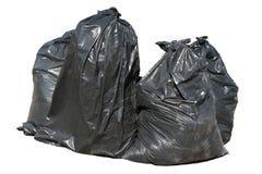 кладет isolat в мешки ящика черное великобританское Стоковая Фотография RF
