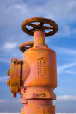 клапаны литого железа Стоковые Фотографии RF