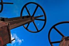 Клапаны трубы Стоковое Фото
