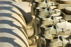 клапаны фонтана Стоковое фото RF