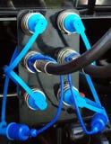 клапаны штепсельных вилок Стоковое Изображение
