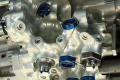 клапан реактивного сопла двигателя воздушных судн Стоковые Фото