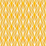 Классика выходит стилю Арт Деко безшовная картина Текстура геометрических лист стильная Текстура вектора абстрактного пера ретро Стоковые Фотографии RF