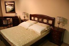 классика спальни Стоковые Изображения RF