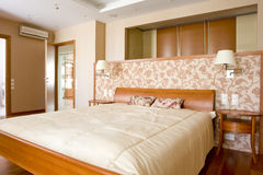классика спальни Стоковое Изображение RF