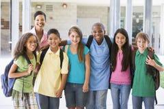 классифицируйте учителя начальной школы стоковое фото rf