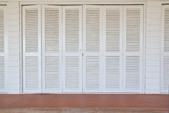 классицистическая белизна двери Стоковые Изображения
