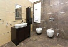 Классицистическая ванная комната Стоковое фото RF