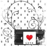 классицистическая влюбленность Стоковые Изображения RF