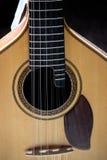 классицистическая гитара крупного плана Стоковая Фотография
