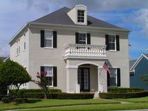 классицистическая дом Стоковая Фотография