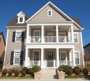 классицистическая дом Стоковое Изображение RF