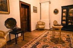 классицистическая живущая комната Стоковые Фотографии RF