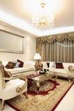 классицистическая живущая комната Стоковое Изображение RF
