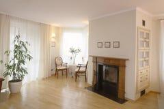 классицистическая живущая комната Стоковые Изображения