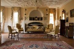 классицистическая живущая комната Стоковые Изображения RF