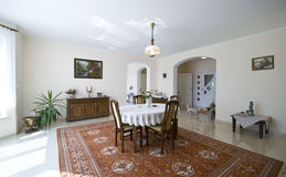 классицистическая живущая комната Стоковая Фотография RF