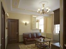 классицистическая зала Стоковые Изображения