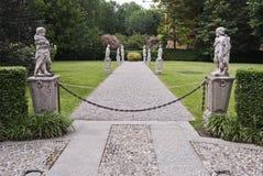 классицистическая итальянка сада Стоковая Фотография RF