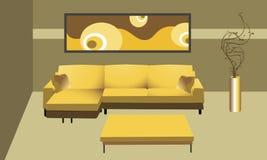 классицистическая комната Стоковые Фото