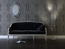 классицистическая комната стоковое изображение