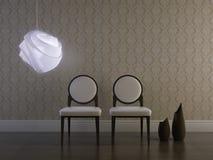 классицистическая комната Стоковое Изображение RF