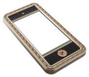 Классицистическая конструкция для smartphone (версия перспективы) Стоковые Изображения RF