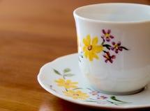 классицистическая кофейная чашка Стоковая Фотография RF