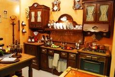 классицистическая кухня Стоковые Фотографии RF
