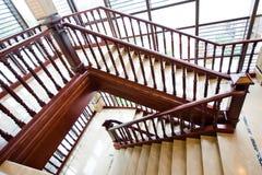 классицистическая лестница Стоковая Фотография