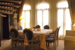 Классицистическая обедая область Стоковая Фотография RF