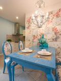 классицистическая обедая роскошная комната Стоковые Изображения