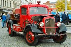 Классицистическая пожарная машина Sisu Стоковые Изображения RF