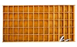классицистическая почта деревянная Стоковое фото RF