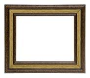 классицистическая рамка деревянная стоковая фотография rf