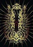 классицистическая рамка Стоковая Фотография RF