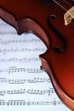 классицистическая скрипка Стоковая Фотография