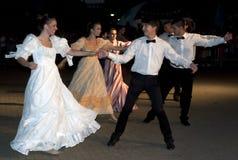 классицистическая танцулька Стоковое Изображение