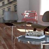 классицистическая угловойая просторная квартира новый читая york иллюстрация вектора
